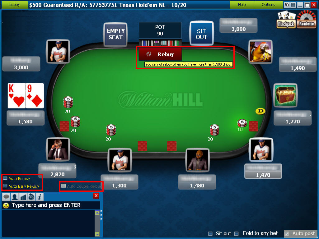 william-hill-poker-table