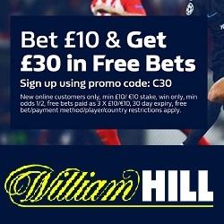 William Hill Promo Codes